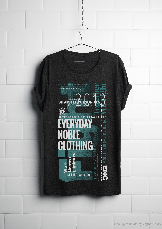 ENC T-shirt (2014)