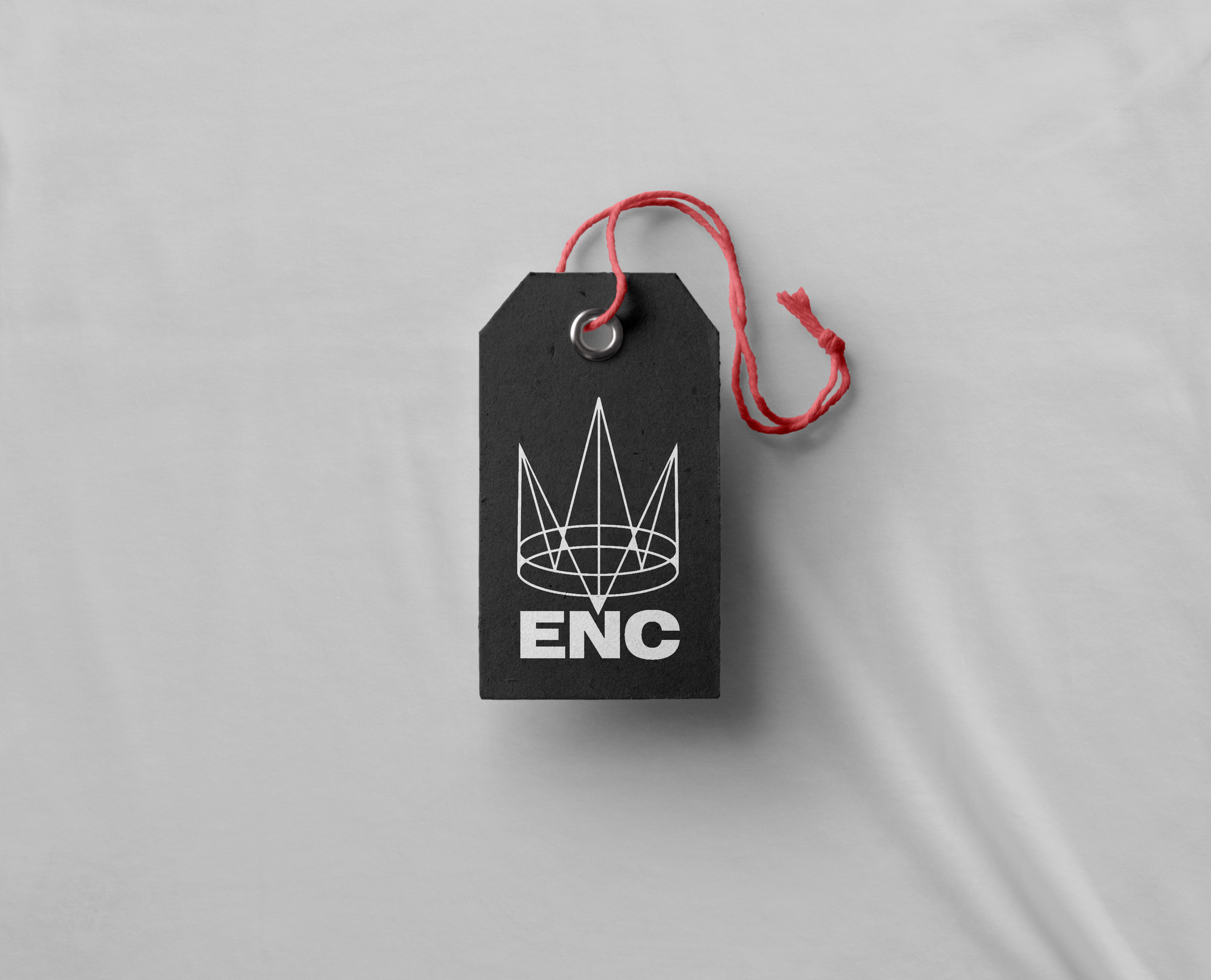ENC clothing tag (2014)