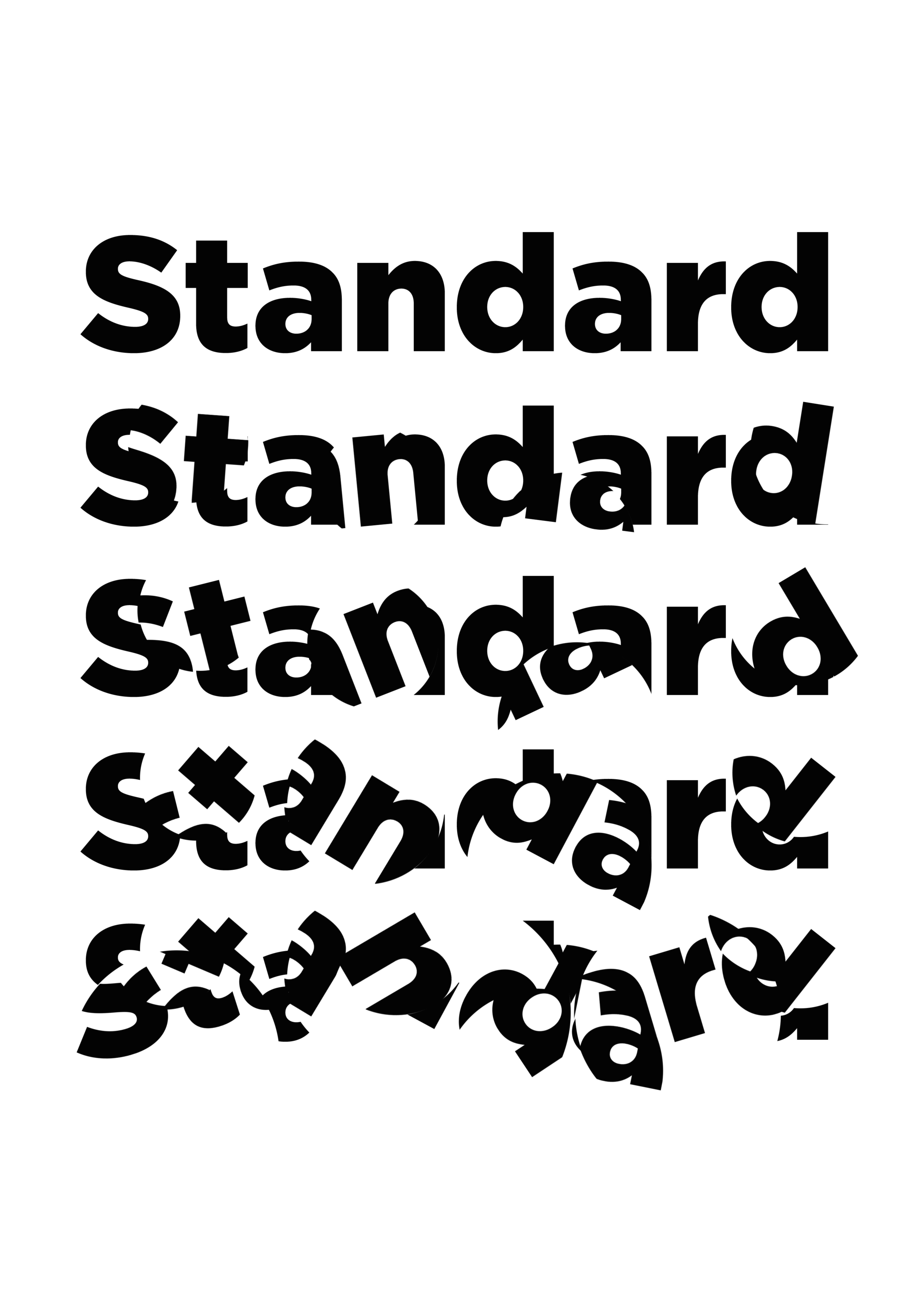 tapestry standard